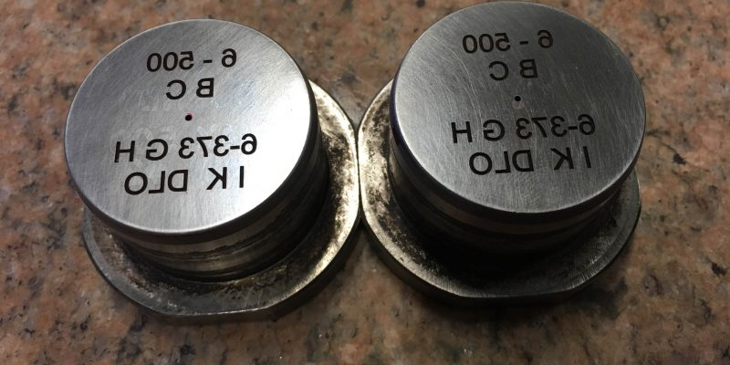 mold rebranding with laser welder