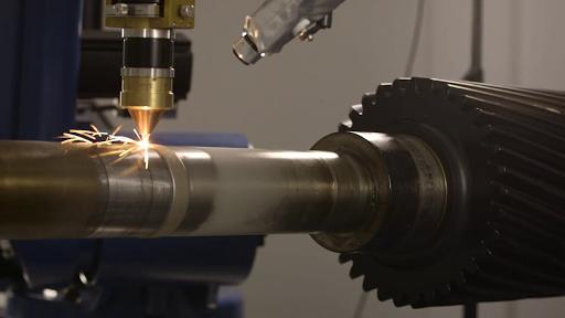 laser cladding