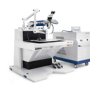 laser welding work station