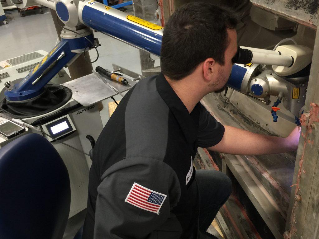 alflak 300 laser welder